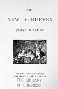 1901 Framed Prints - McGUFFEYS READER, 1901 Framed Print by Granger