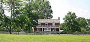 Civil War Battle Site Photos - McLean House Appomattox Court House Virginia by Teresa Mucha