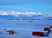 Research Photo Originals - McMurdo Ice Airstrip by David Barringhaus