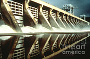 Power Plants Framed Prints - Mcnary Dam Framed Print by Science Source
