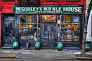 Places Posters - McSorleys  in Color Poster by Randy Aveille