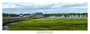 S Landscape Photography Posters - McTeer Bridge Poster by Scott Hansen