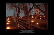 Memorial Illumination Framed Prints - MD Monument from Smoketown Road 98 Framed Print by Judi Quelland