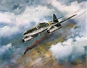 Usaf Painting Framed Prints - me - 262 Framed Print by Colin Parker