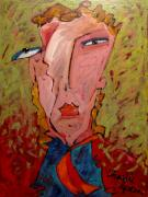 Caricature Painting Originals - ME JANE WHO the HELL ARE YOU by Charlie Spear