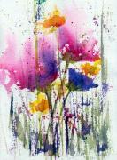 Meadow Medley Print by Anne Duke