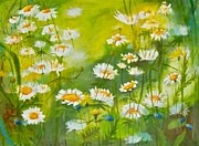 Alexandra Krasuska - Meadow with daisies