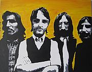 Ringo Starr Paintings - Mean Mr Mustard by Rebecca Jankowitz