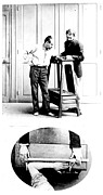 Criminal Investigation Prints - Measurement Of The Cubit, Bertillon Print by Science Source