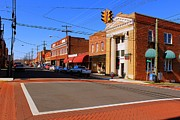 Small Towns Prints - Mebane North Carolina Print by Bob Whitt
