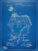 Mechanical Horse Toy Patent Artwork 1893 Print by Nikki Marie Smith