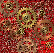 Mechanism Print by Michal Boubin