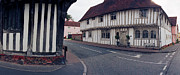 Great Britain Originals - Mechant Houses Lavenham by Jan Faul