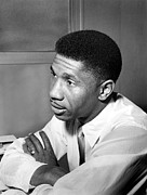 Black History Art - Medgar Evers, Chief Officer Of Naacp by Everett