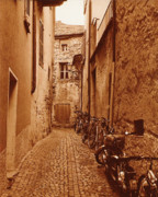 Old Houses Metal Prints - Mediaeval towns Metal Print by Jose Luiz Mendes
