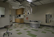 Clinic Prints - Medical Examination Room Print by Robert Pisano