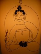 Live Wire Spirit Art - Medicine Buddha by Live Wire Spirit