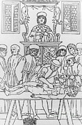 Ages Prints - Medicine In The Middle Ages Print by Photo Researchers