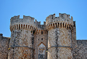 Rhodes Photo Posters - Medieval fortress of Rhodes. Poster by Fernando Barozza