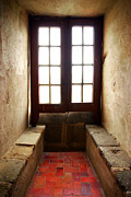 Stone Floor Photos - Medieval Window by Carlos Caetano