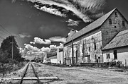 Railroads Originals - Medina Railyard 7323 by Guy Whiteley