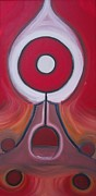 Power Paintings - Meditate - To think intently and at length as for spiritual purposes. by Cory Green