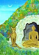 Meditation At Dawn Print by Jennifer Baird