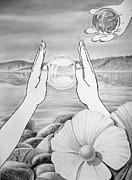 Meditation  Print by Irina Sztukowski