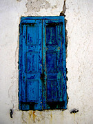 Metallic Art - Mediterranean Blue  by Floyd Menezes