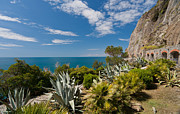 Cinque Terre Photos - Mediterranean Garden by Mike Reid