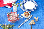 Spoons Photos - Mediterranean Spreads by Joana Kruse
