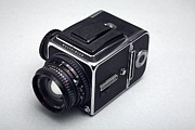 Medium Format Prints - Medium Format Film Camera Print by Victor De Schwanberg