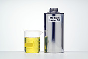 Lubrication Posters - Medium Lubricating Oil Poster by Paul Rapson