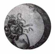 Medusa Drawings Metal Prints - Medusa Metal Print by Adina Iancu