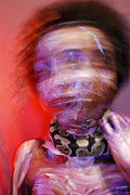Medusa Metal Prints - Medusa Blur Metal Print by Monica Berniece Boeckman