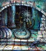 Medusa Print by Heather Calderon