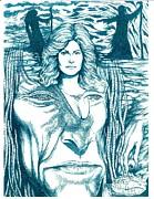 Medusa Lament Print by Jamie Jonas