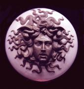 Clay Sculptures - Medusa by Patrick Rankin