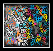 Medusa Framed Prints - Medusas Mirror Framed Print by Steve Farr