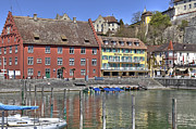 Cafes Prints - Meersburg - Lake Constance Print by Joana Kruse
