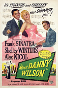 Sinatra Art Posters - Meet Danny Wilson, Frank Sinatra Poster by Everett
