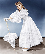 White Gloves Photo Prints - Meet Me In St. Louis, Judy Garland, 1944 Print by Everett