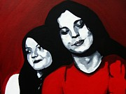 Meg White Prints - Meg and Jack Print by Rock Rivard