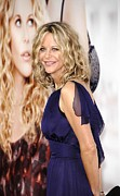 Premiere Metal Prints - Meg Ryan At Arrivals For Premiere Metal Print by Everett