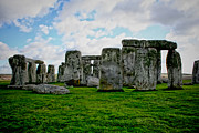 Wiltshire Framed Prints - Megaliths Framed Print by Heather Applegate