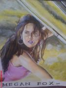 Blockbuster Art - Megan Fox by Sandeep Kumar Sahota
