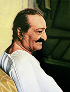 Meher Baba 3 Print by Nad Wolinska