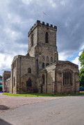 England Prints - Melbourne Parish Church in Derbyshire Print by Rod Johnson