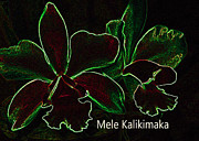 Mele Kalikimaka - Merry Christmas From Hawaii Print by Kerri Ligatich