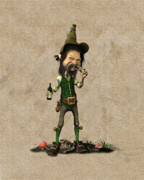 Leprechaun Digital Art - Mellochir by John Junek